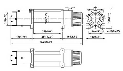 COME.UP WINCH DV-9 12V/24V